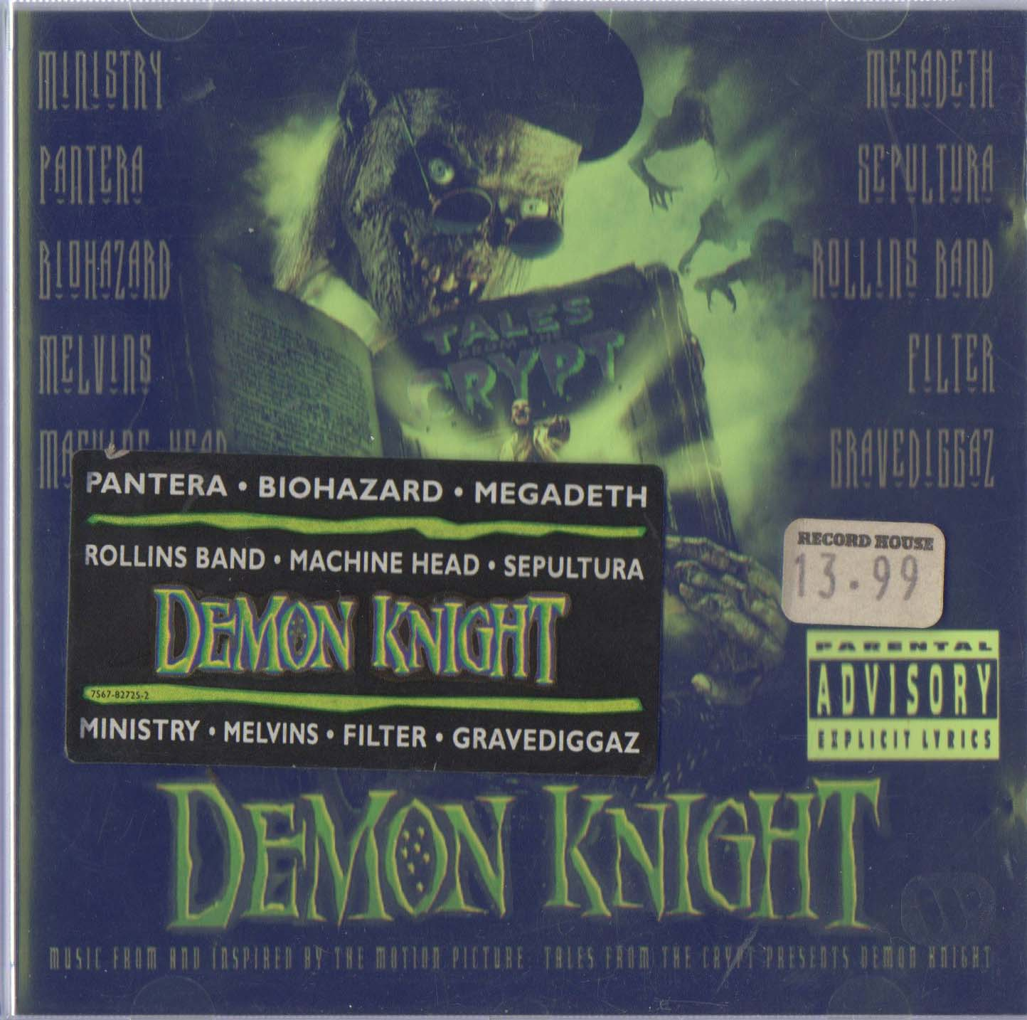 Demon Knight OST Front