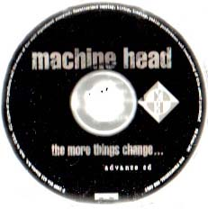 The More Things Change Advance Cd Disc