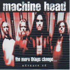 The More Things Change Advance Cd Front