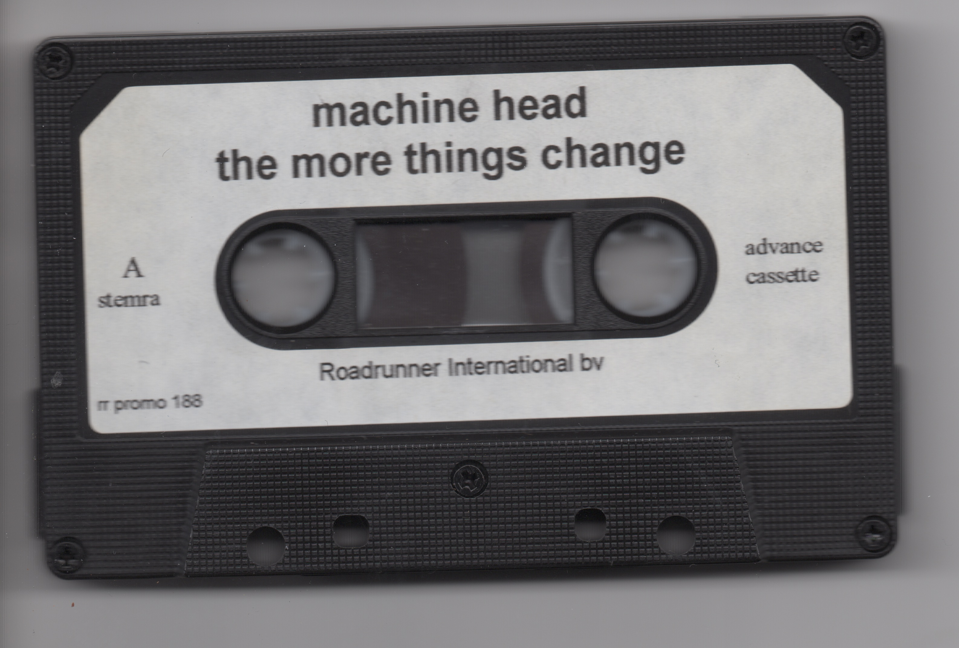 the more things change machine