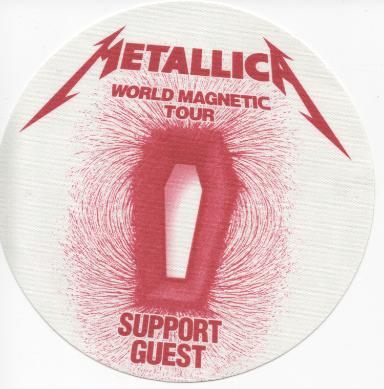 Death Magnetic Red VIP Stickie