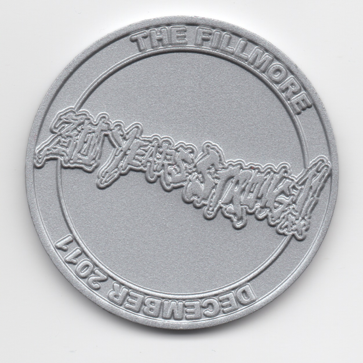 XXX Coin Silver Small Back
